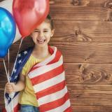 Au pair Kind USA Farben